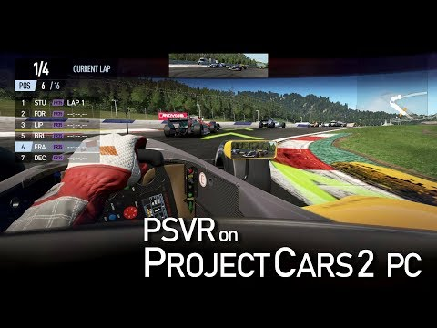 TrinusPSVR | Project Cars 2 PC with Playstation VR
