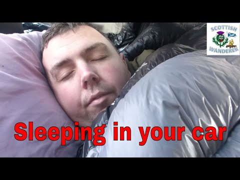 Car Camping Sleeping In Your Car In The Winter Uk Wild Camping Living In Your Car Campfire Cooking