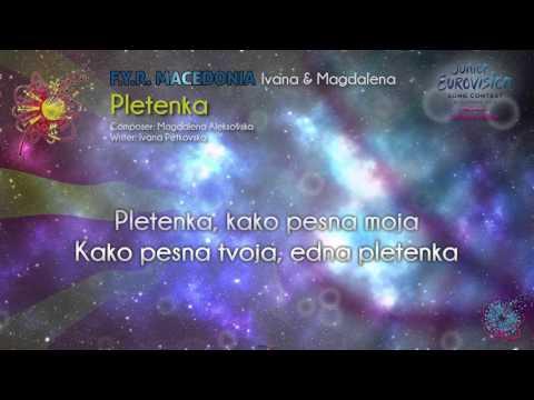 "Ivana & Magdalena - ""Pletenka"" (F.Y.R. Macedonia) - [Karaoke version]"