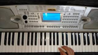 تعليم عزف اغنية حب عمري كيمو كونو - O K A