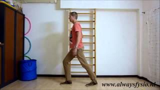 Hielspoor oefening 1: Rekken van de kuitspieren