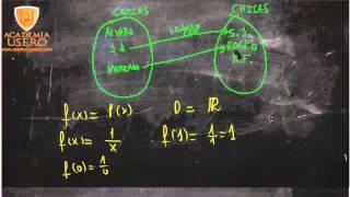Dominio función con x en el denominador Matemáticas 1º Bachillerato Academia Usero Estepona
