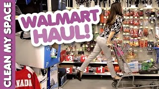 Walmart Haul! How to Buy Cleaning Products on a Budget: Clean My Space Thumbnail