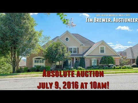 Absolute Auction Saturday July 9, 2016! 10 AM