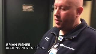 Regions Hospital EMS provides quality patient care to Xcel Energy Center events