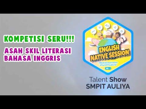 """""""ENGLISH NATIVE SESSION"""" SMPIT AULIYA, ASAH LITERASI SKIL BAHASA INGGRIS"""