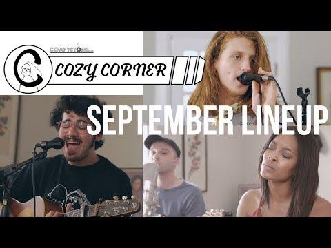 Cozy corner (Music Performance Show) September Lineup