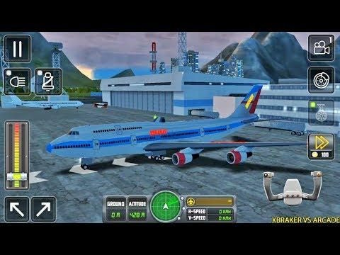 Flight Sim 2018 #88 - Airplane Simulator - Tunning Airplane Unlocked - Android Gameplay
