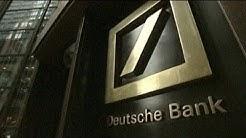 Gewinnabsturz bei der Deutschen Bank