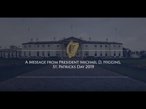 Aaron Zytle -  2019 St Patrick's Day Message from President Michael D. Higgins