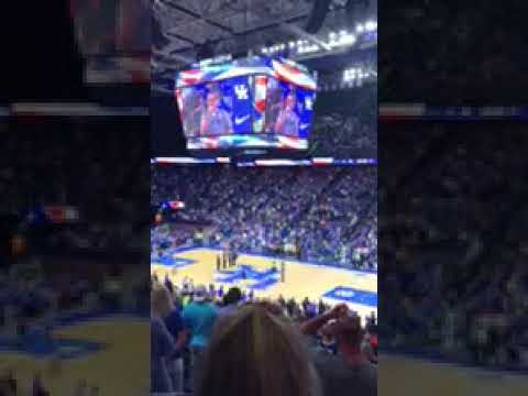 Kentucky State Trooper Billy Gregory at Rupp Arena