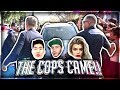 COPS CALLED BECAUSE OF FANS... (ARRESTED?)