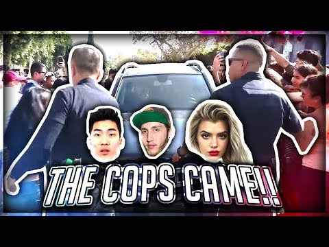 Thumbnail: COPS CALLED BECAUSE OF FANS... (ARRESTED?)