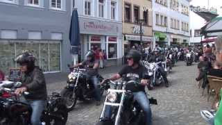 Repeat youtube video Harley Parade 2013, Moselwein meets Harley in Wittlich -  Germany HD Travel Channel