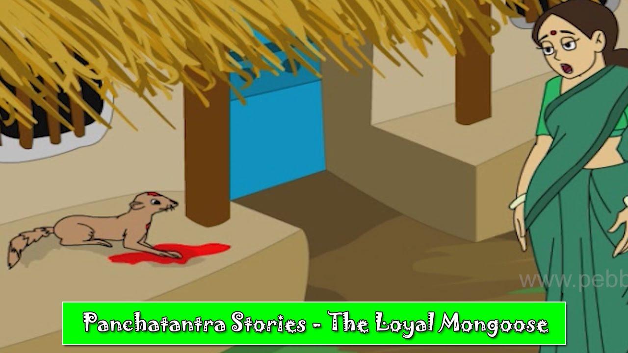 Loyal Mongoose | Panchatantra Hindi Stories | Animated Hindi Stories For  Kids | Hindi Kahaniya
