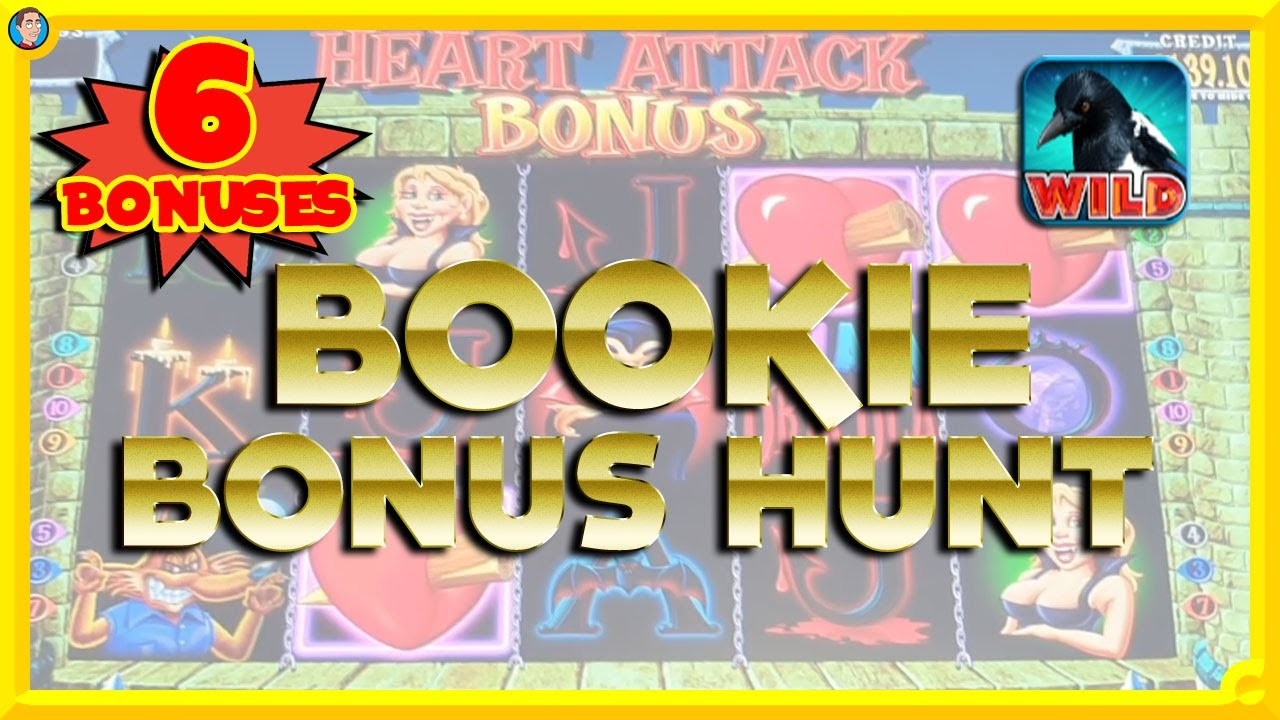 BOOKIE BONUS HUNT: Magpie Mayhem, Ohh Ahh Dracula, Golden Chief + More!!