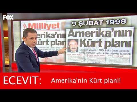 Bülent ECEVIT: Amerika'nin Kürt (Kürdistan) plani