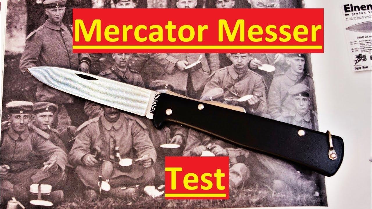 Otter Mercator Messer Test Review Kaiser Wilhelms Liebstes Youtube