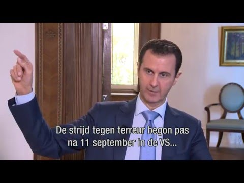 The full interview with president Assad of Syria (Dutch subtitles)