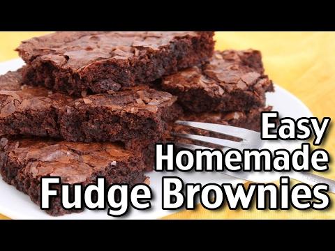 The Perfect Brownie Recipe!! / Easy Homemade Fudge Brownies!