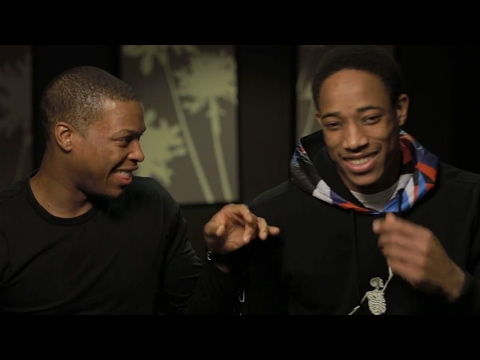 Outtakes with Kyle Lowry & DeMar DeRozan of the Toronto Raptors   JUNO TV