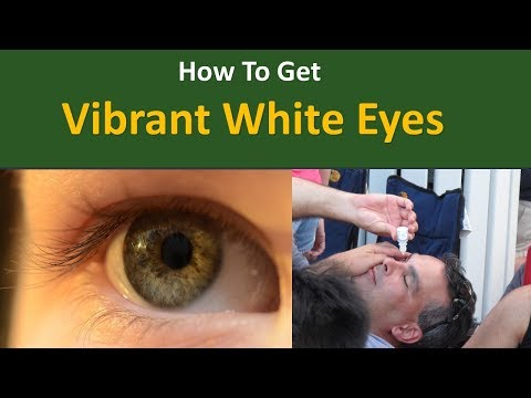 How to get Vibrant White Eyes |Use regular eye drops like Visine or Clear Eyes