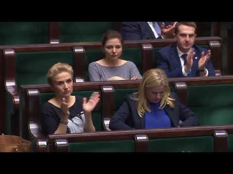 Barbara Nowacka - wystąpienie z 10 stycznia 2018 r.