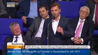 Bundestagsdebatte zur doppelten Staatsbürgerschaft am 02.02.18