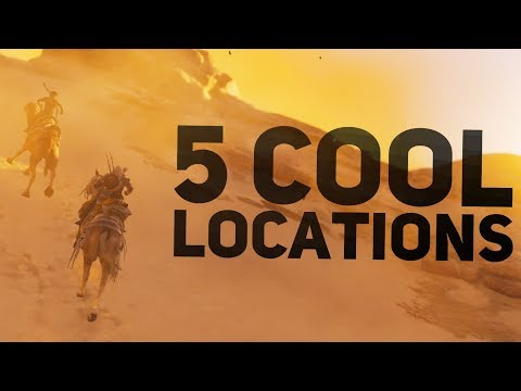 Assassin's Creed Origins – 5 Cool Locations You Should Visit