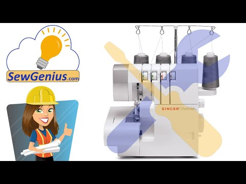 Repeat Singer 14CG754 ProFinish Serger - What It Sounds Like