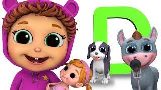 Letter D Compilation | Baby Joy Joy on Clap Clap Baby