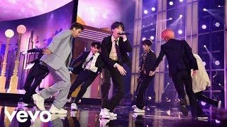 BTS ft Halsey - Boy With Luv' (Live On Billboard Music Awards 2019)