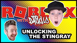 Mad City – ROBLOX with Daddio – Unlocking the Corvette Stingray (Crime Does Pay)