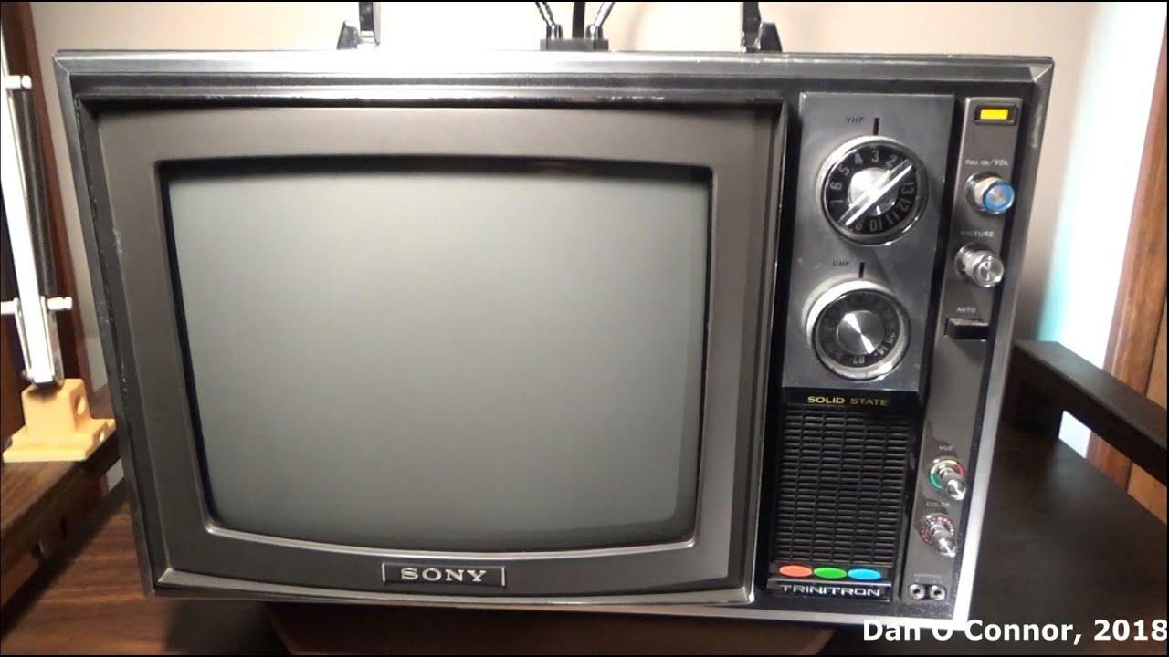1971 Sony Trinitron Kv-1201
