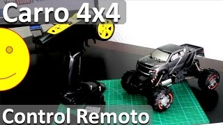 Carros de Control Remoto 4x4 Barato - Rock Crawler Buggy 4x4