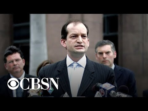 Labor Sec. Acosta Resigns Over 2008 Jerry Epstein Plea Deal