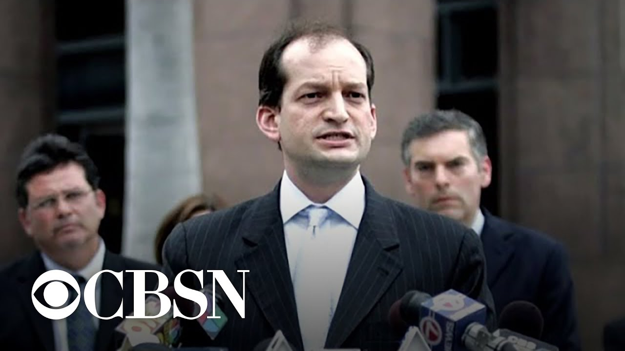 Labor Secretary Alex Acosta resigns amid fallout over Jeffrey Epstein case
