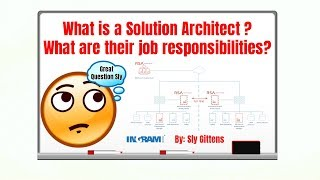 What is a Solution Architect? What are their job responsibilities? | Sly Gittens