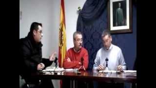 Pleno Montejaque Enero 2012
