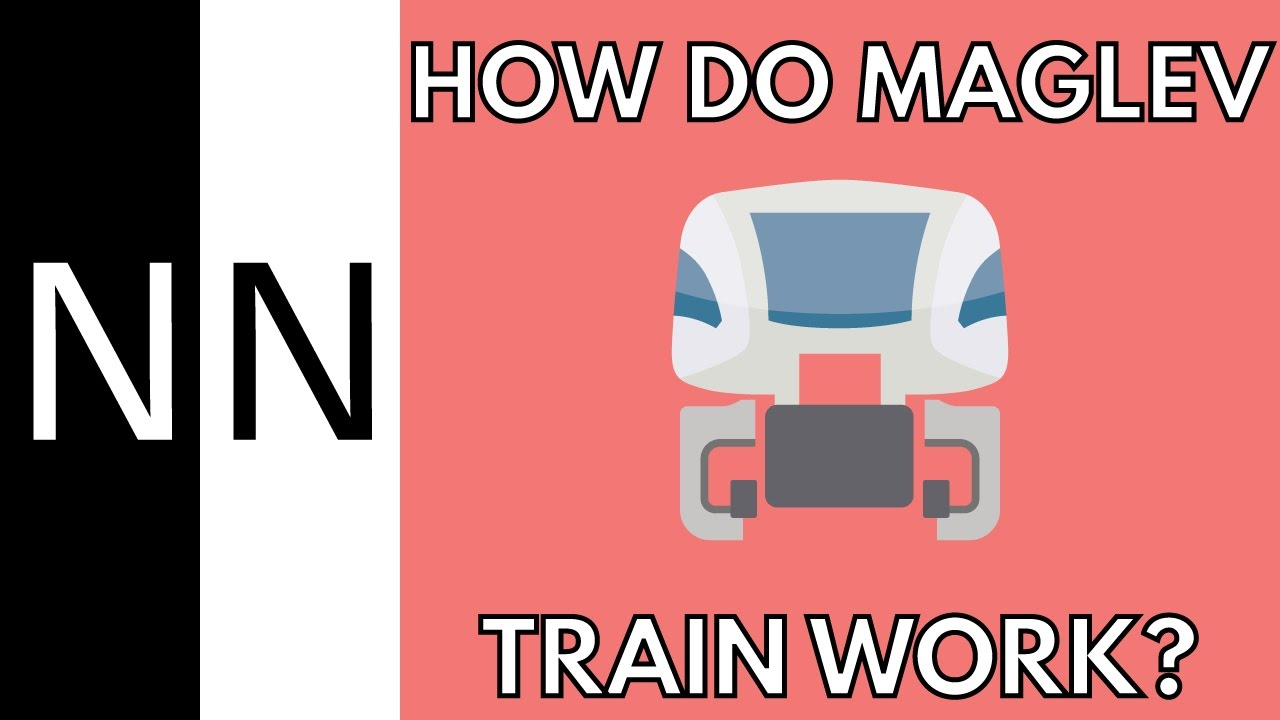 How Do Maglev Trains Work >> How Do Maglev Trains Work Youtube