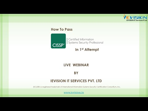 How to Pass CISSP in 1st Attempt!