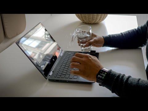 HP ProBook X360 11 G5 EE   Unboxing inklusive Wasser- und Sturztest
