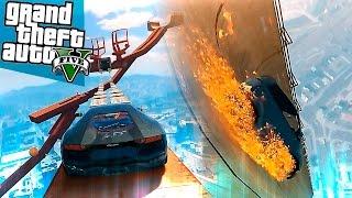 GTA 5 Моды: Эпичный трамплин и Огненый гонщик - Карты на прохождение