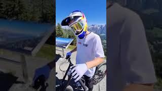 😎 Fabio Wibmer visits Saalbach Bikepark ⚡