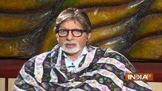 Amitabh Bachchan Praises Narendra Modi in His Biggest Interview - India TV