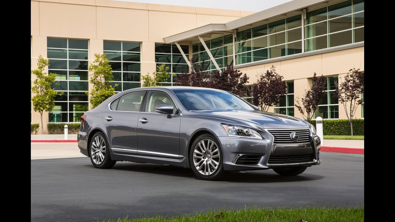 Real World Test Drive 2014 Lexus LS 460 4 Door Sedan   YouTube
