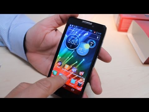 Unboxing: RAZR HD listo para red LTE