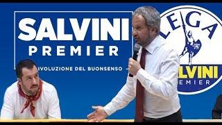 🔴 On. Claudio Borghi: L'Euro, la Liretta, il cambio fisso e i Benetton (Treviso, 26/04/2014).