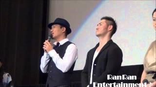 2015.1.24バルト9にて行われた、初日舞台挨拶の模様。永瀬正敏、坂井真...