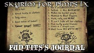 Skyrim For Pimps - Fün T*ts' Journal (S1E09) Dark Brotherhood Walkthrough